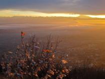 Закат на горе Машук