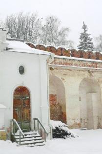 Зима в Новодевичьем