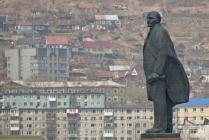 Памятник Ленину в Петропавловске