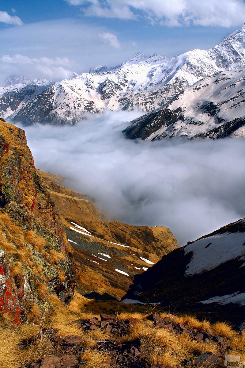туман над склоном