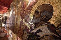 Фрагмент мозаики Храма Спаса на Крови