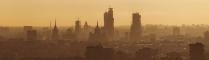 Предзакатный город