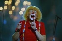 Единственный в мире дирижер-клоун Мелвин Тикс