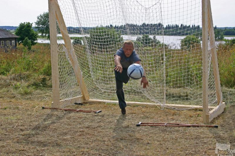 Трус не играет в футбол!