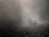 Взрыв на складе пиротехники