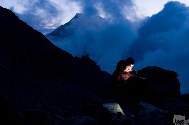 Самый читающий альпинист на свете!