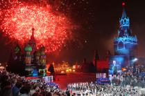 Фестивальный салют.