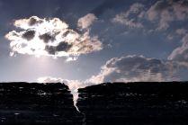 Где небо столкнулось с землей...
