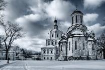 Спасо-Андронниковский монастырь, зимний день
