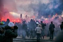 Манежная площадь, события  декабря