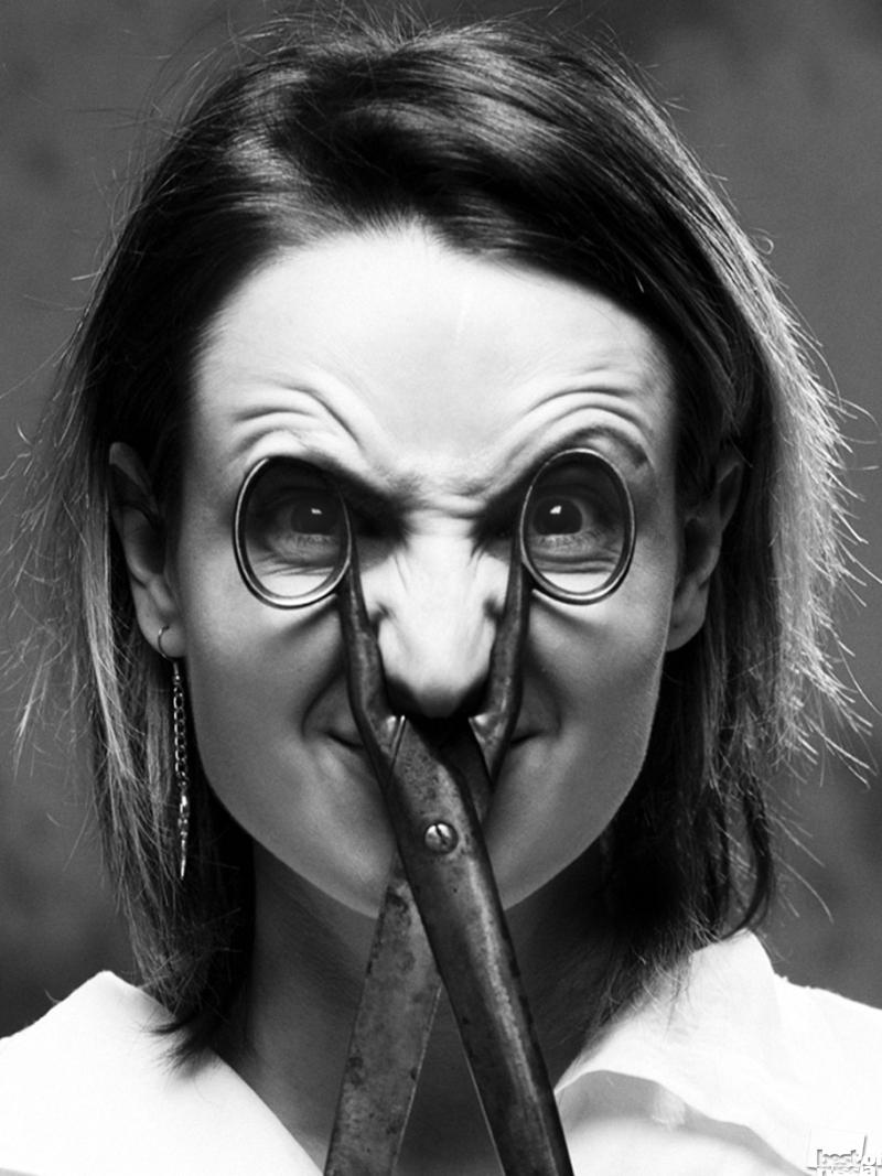 Катя глаза-ножницы
