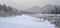 Зимний пейзаж на Бии