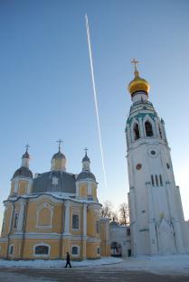 На территории Вологодского Кремля