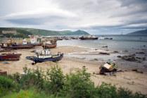 Магаданский рыбный порт