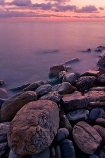Закат над морем Черным