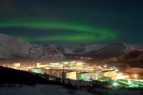 Краски полярной ночи.