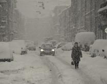 Питерская зима