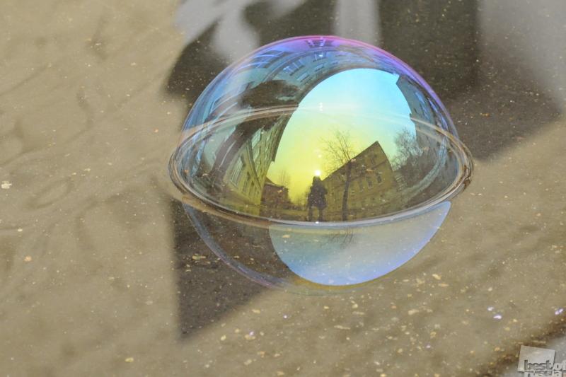 Вселенная мыльного пузыря