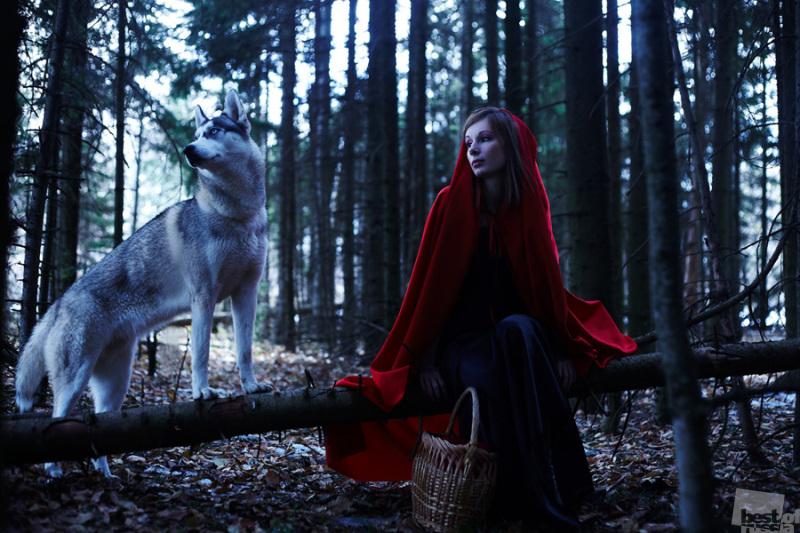 ..с глазами волчицы