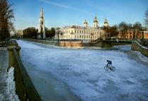 Зимой на Крюковом канале.