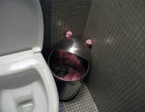 Ужжасный бармаглот в туалете ЦУМа