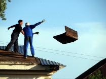 запуск крыши
