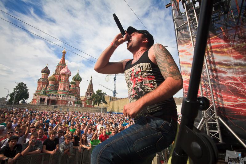 Панк-рок на Красной площади