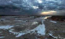 Солёные берега озера Эльтон.
