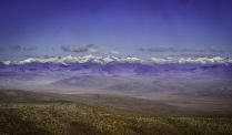 Заснежные вершины Чукотки