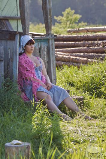 начал поглаживать домашние фото русских баб в деревне турок меня даже