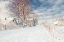 Рождественская прогулка по деревне