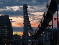 Крымский мост на закате