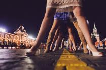Эйфелевая башня с дружеским визитом в Москве