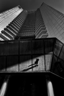Автопортрет в Сити. Москва